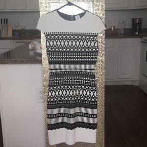Julia Jordan Black and White Dress